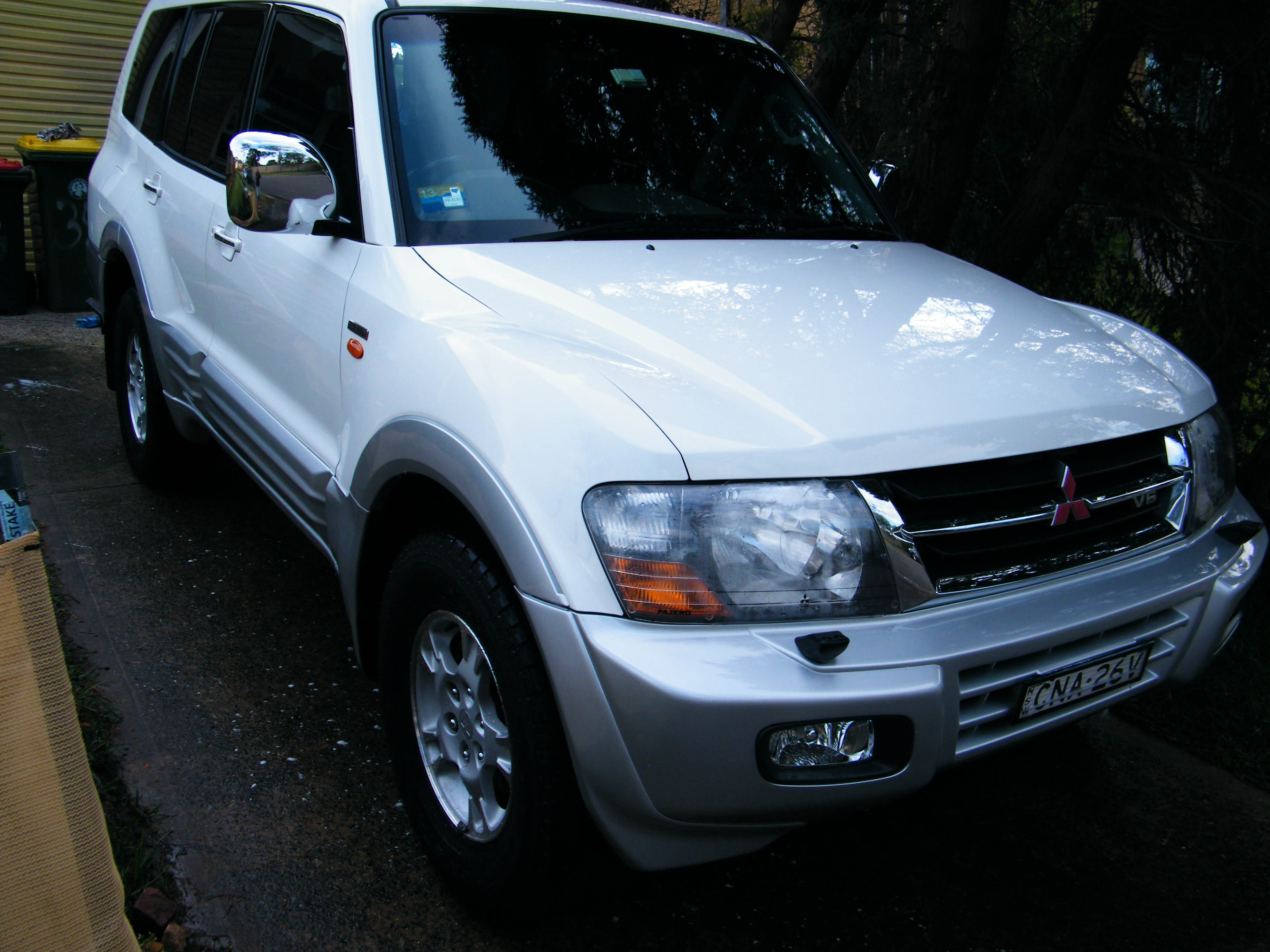 2002 mitsubishi pajero exceed lwb 4x4 nm car sales nsw sydney 2249657. Black Bedroom Furniture Sets. Home Design Ideas